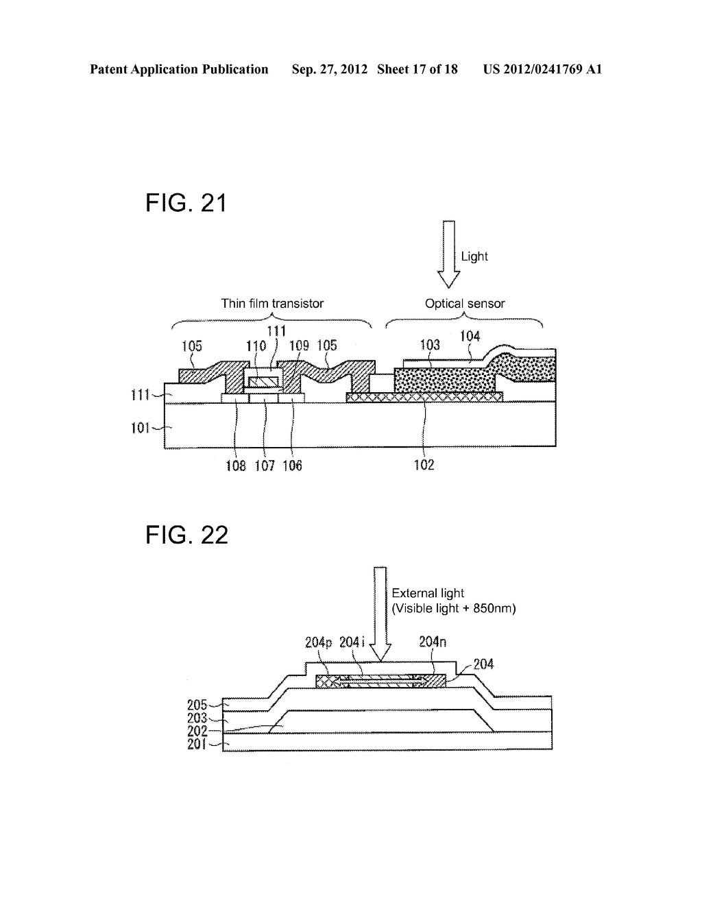 PHOTODIODE AND MANUFACTURING METHOD FOR SAME, SUBSTRATE FOR DISPLAY PANEL,     AND DISPLAY DEVICE - diagram, schematic, and image 18