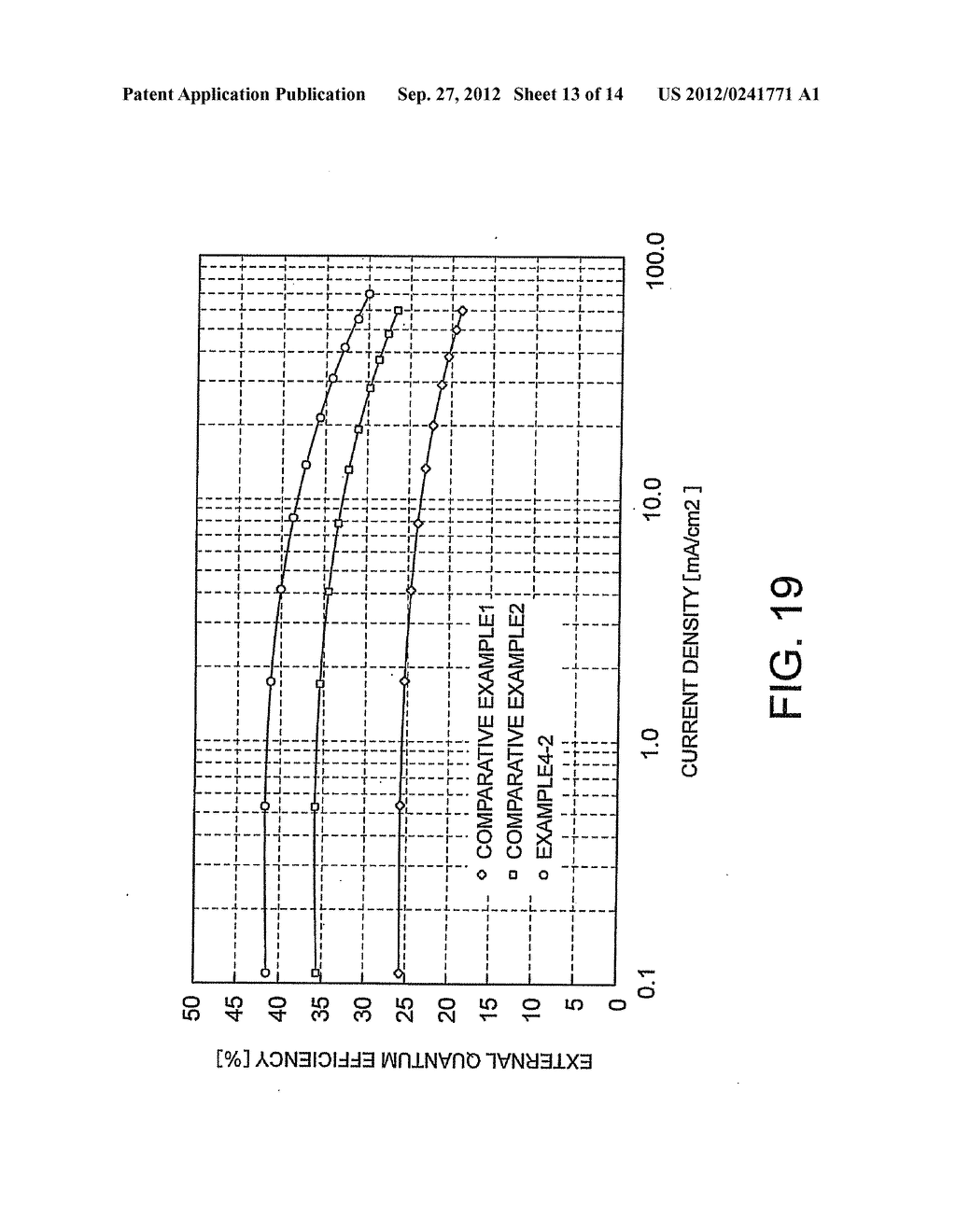 ORGANIC ELECTROLUMINESCENT DEVICE, DISPLAY DEVICE, AND ILLUMINATION DEVICE - diagram, schematic, and image 14