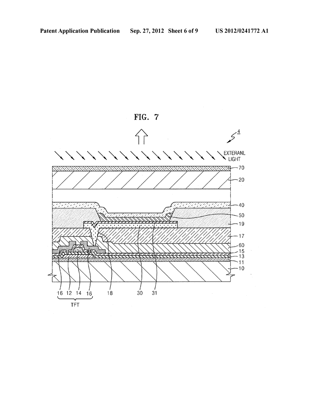 ORGANIC LIGHT-EMITTING DISPLAY APPARATUS - diagram, schematic, and image 07