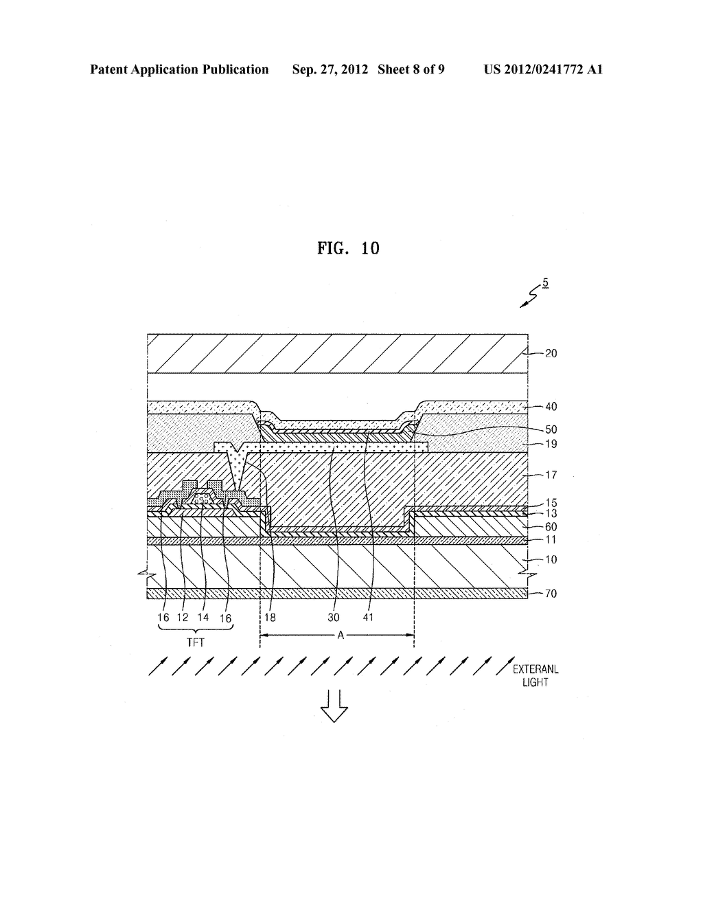 ORGANIC LIGHT-EMITTING DISPLAY APPARATUS - diagram, schematic, and image 09