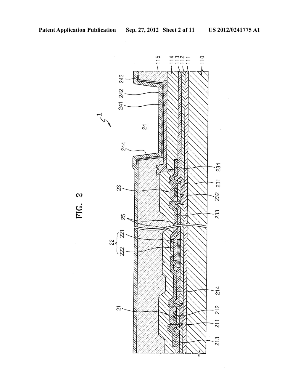 ORGANIC LIGHT-EMITTING DISPLAY DEVICE - diagram, schematic, and image 03