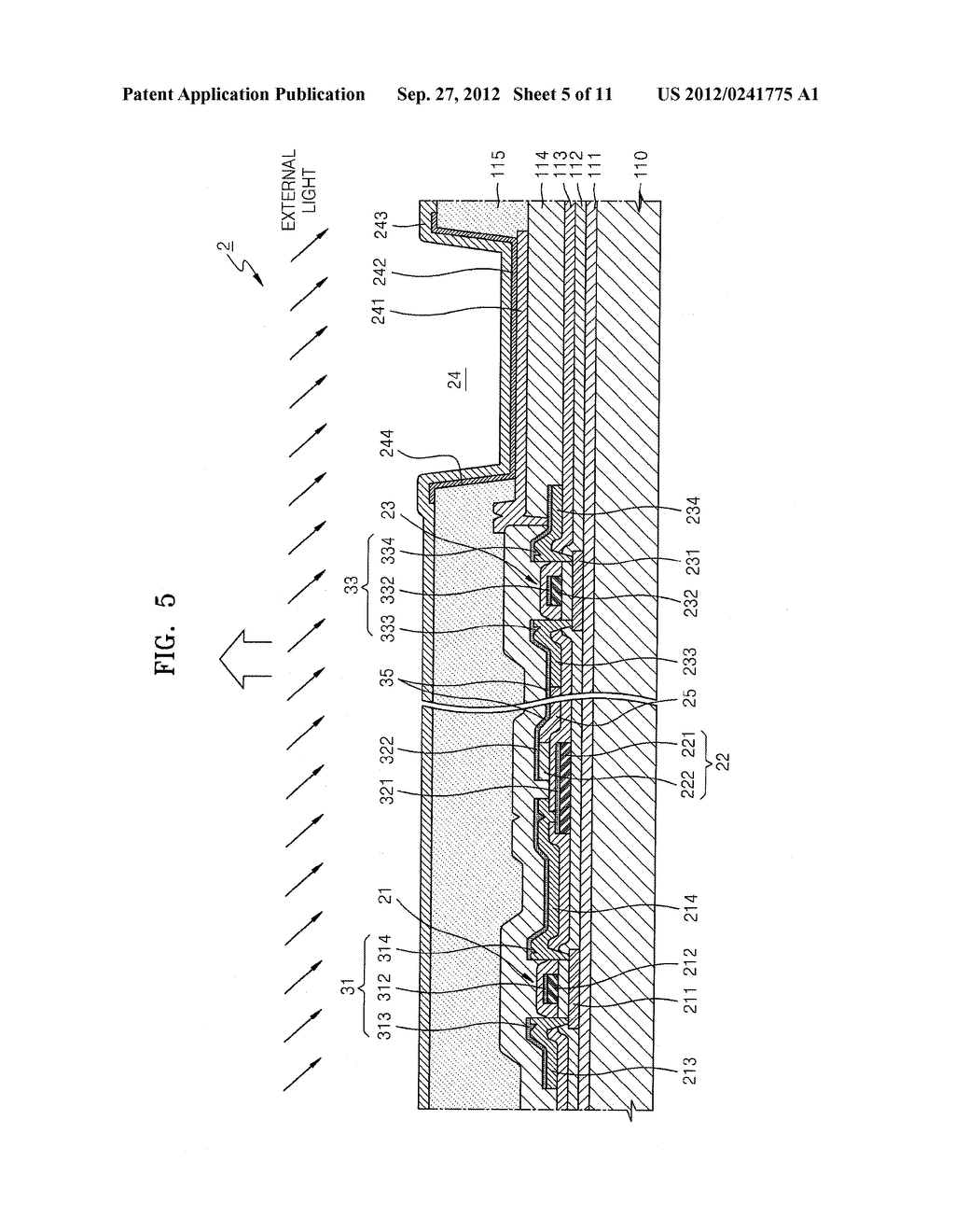 ORGANIC LIGHT-EMITTING DISPLAY DEVICE - diagram, schematic, and image 06