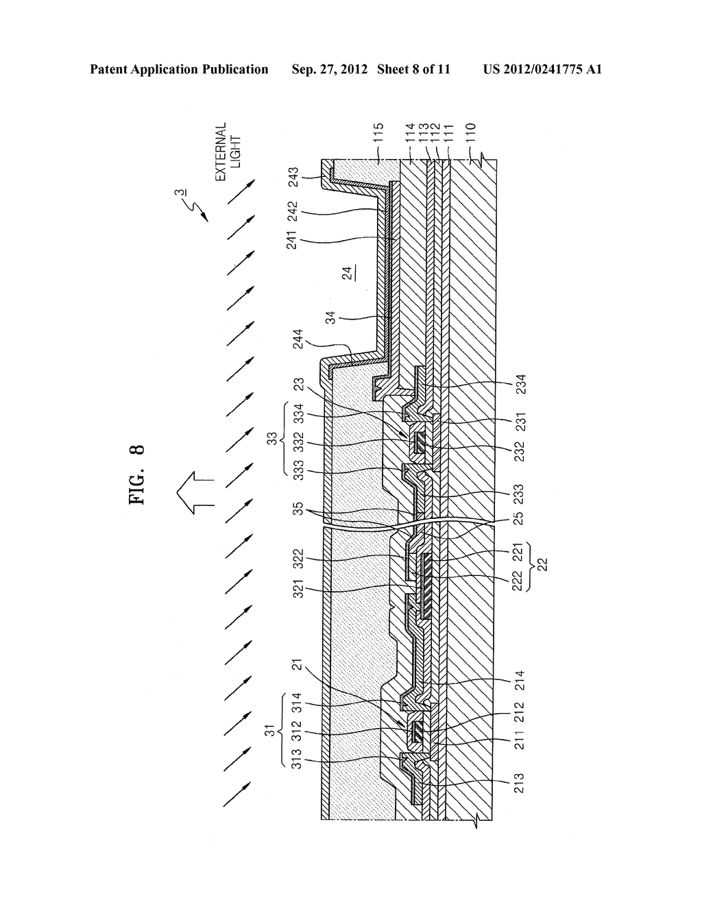 ORGANIC LIGHT-EMITTING DISPLAY DEVICE - diagram, schematic, and image 09