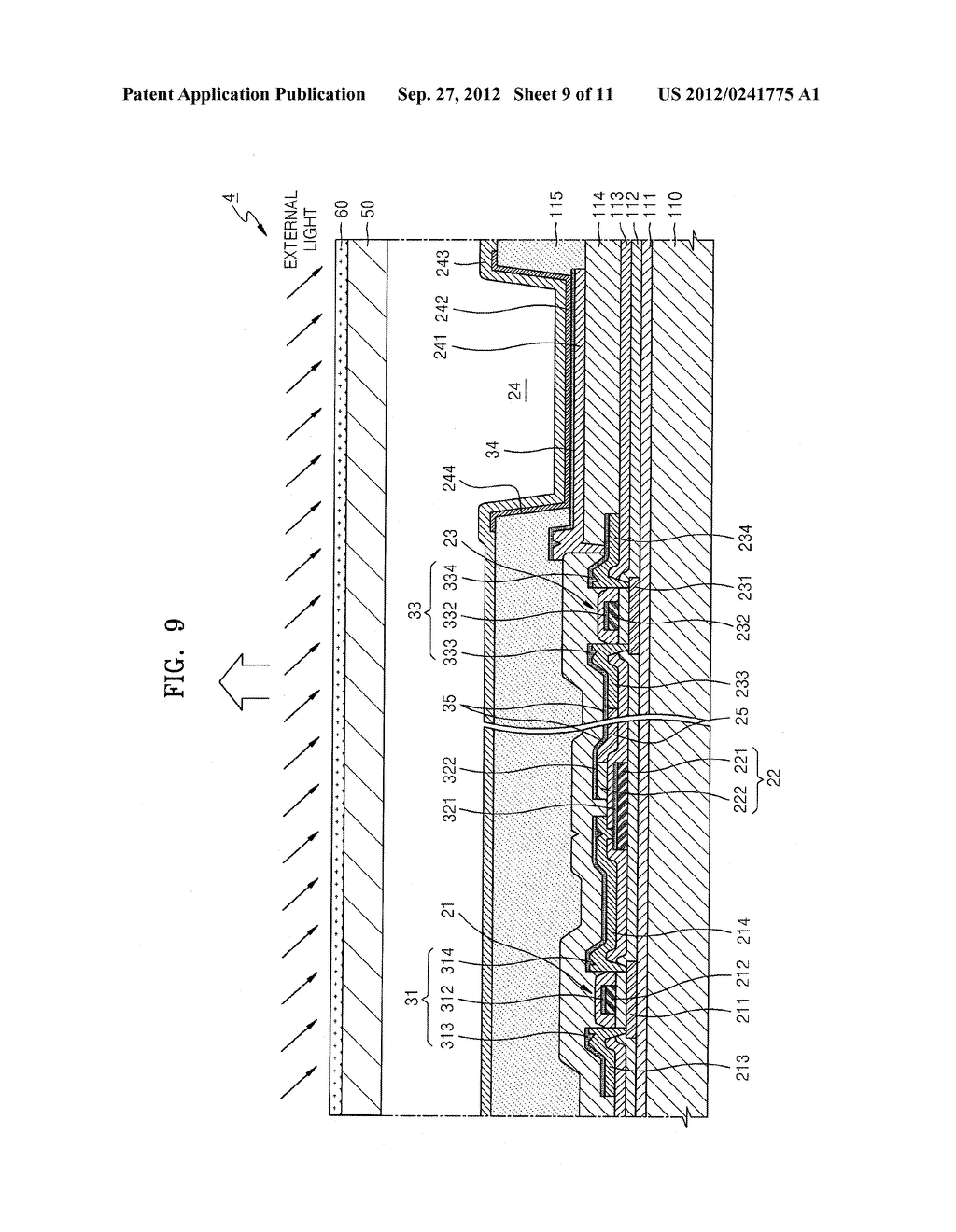 ORGANIC LIGHT-EMITTING DISPLAY DEVICE - diagram, schematic, and image 10