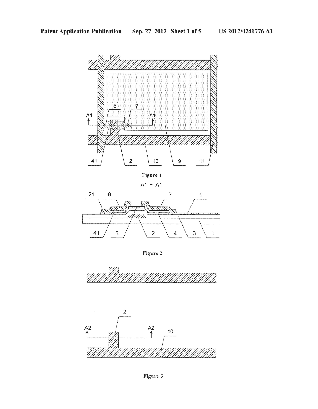 TFT-LCD ARRAY SUBSTRATE AND METHOD OF MANUFACTURING THE SAME - diagram, schematic, and image 02