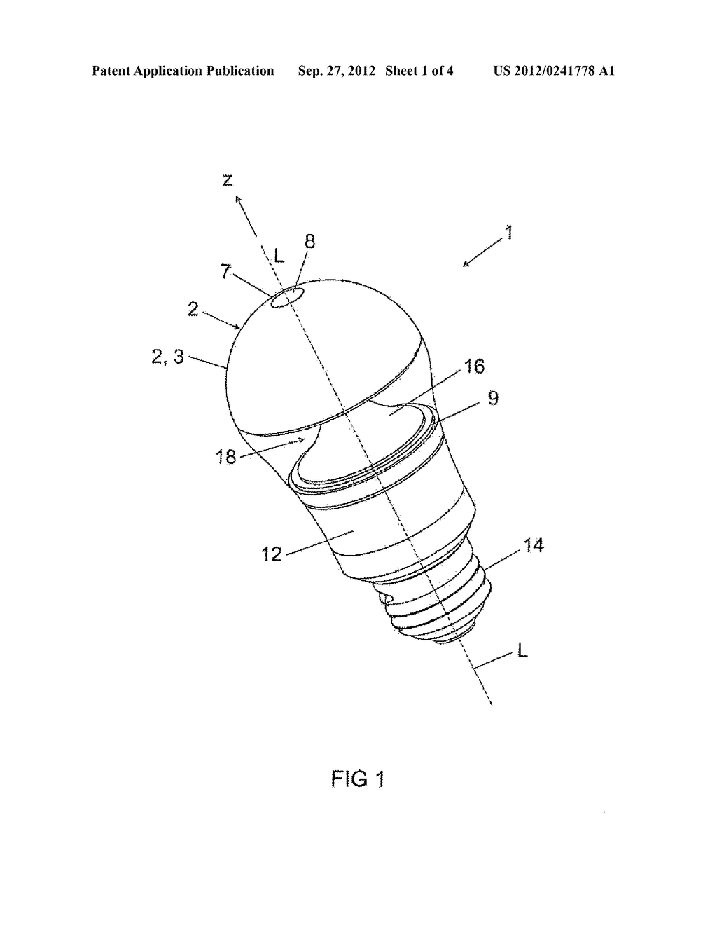 LIGHT-EMITTING DEVICE AND METHOD FOR ASSEMBLING A LIGHT-EMITTING DEVICE - diagram, schematic, and image 02