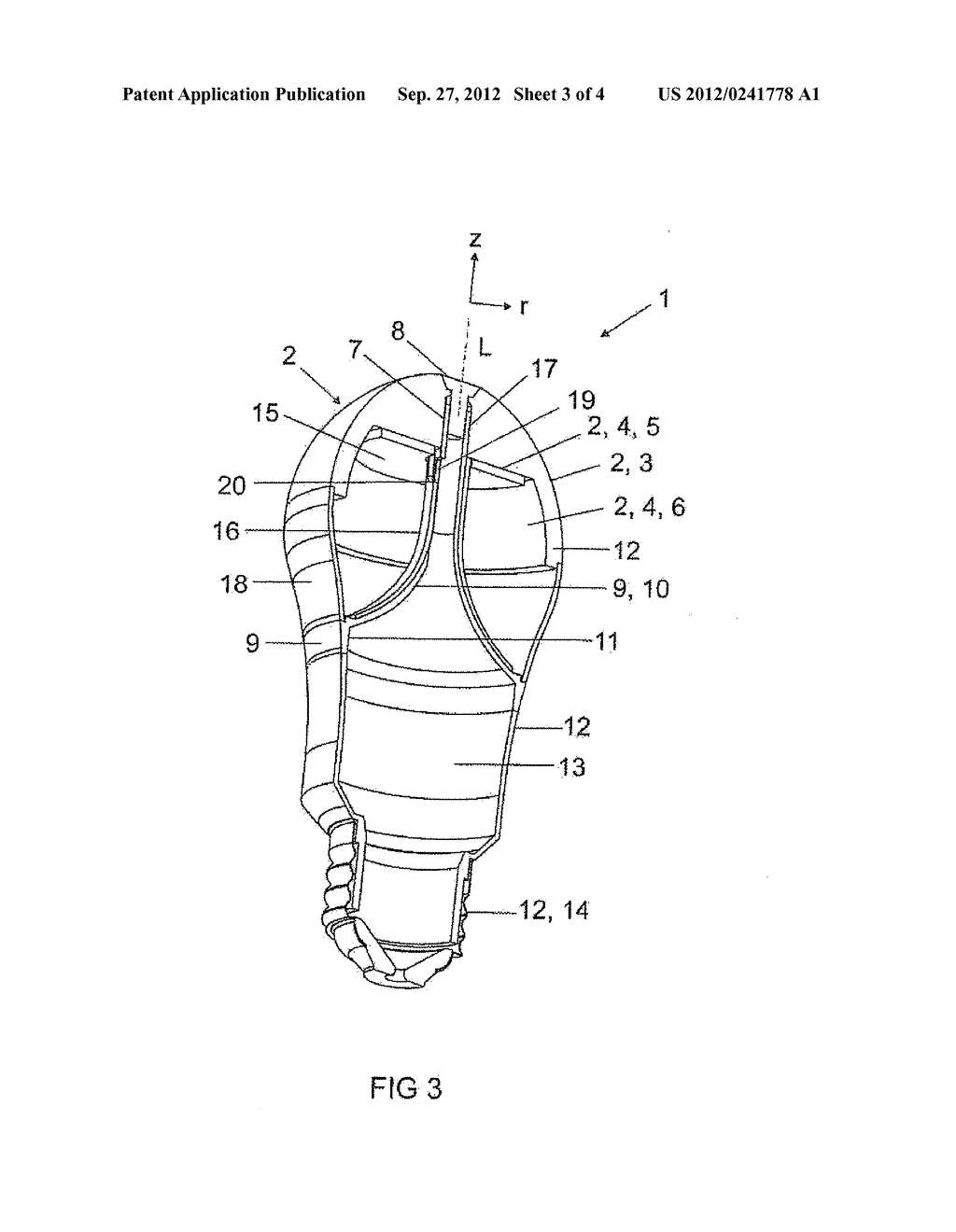 LIGHT-EMITTING DEVICE AND METHOD FOR ASSEMBLING A LIGHT-EMITTING DEVICE - diagram, schematic, and image 04