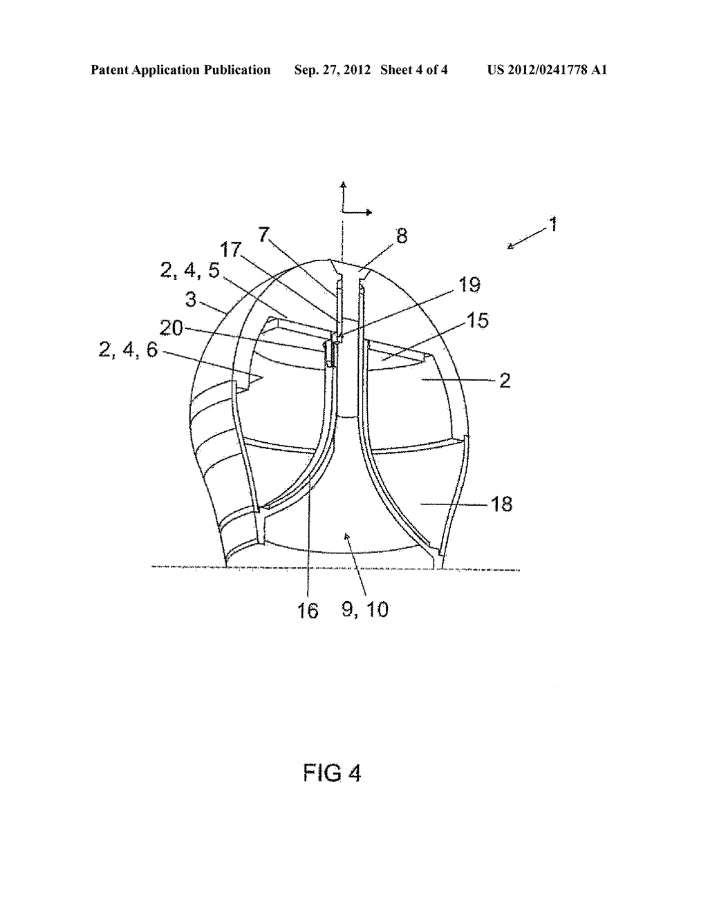 LIGHT-EMITTING DEVICE AND METHOD FOR ASSEMBLING A LIGHT-EMITTING DEVICE - diagram, schematic, and image 05