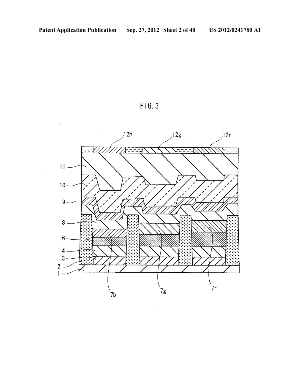 ORGANIC EL PANEL, DISPLAY DEVICE USING SAME, AND METHOD FOR PRODUCING     ORGANIC EL PANEL - diagram, schematic, and image 03