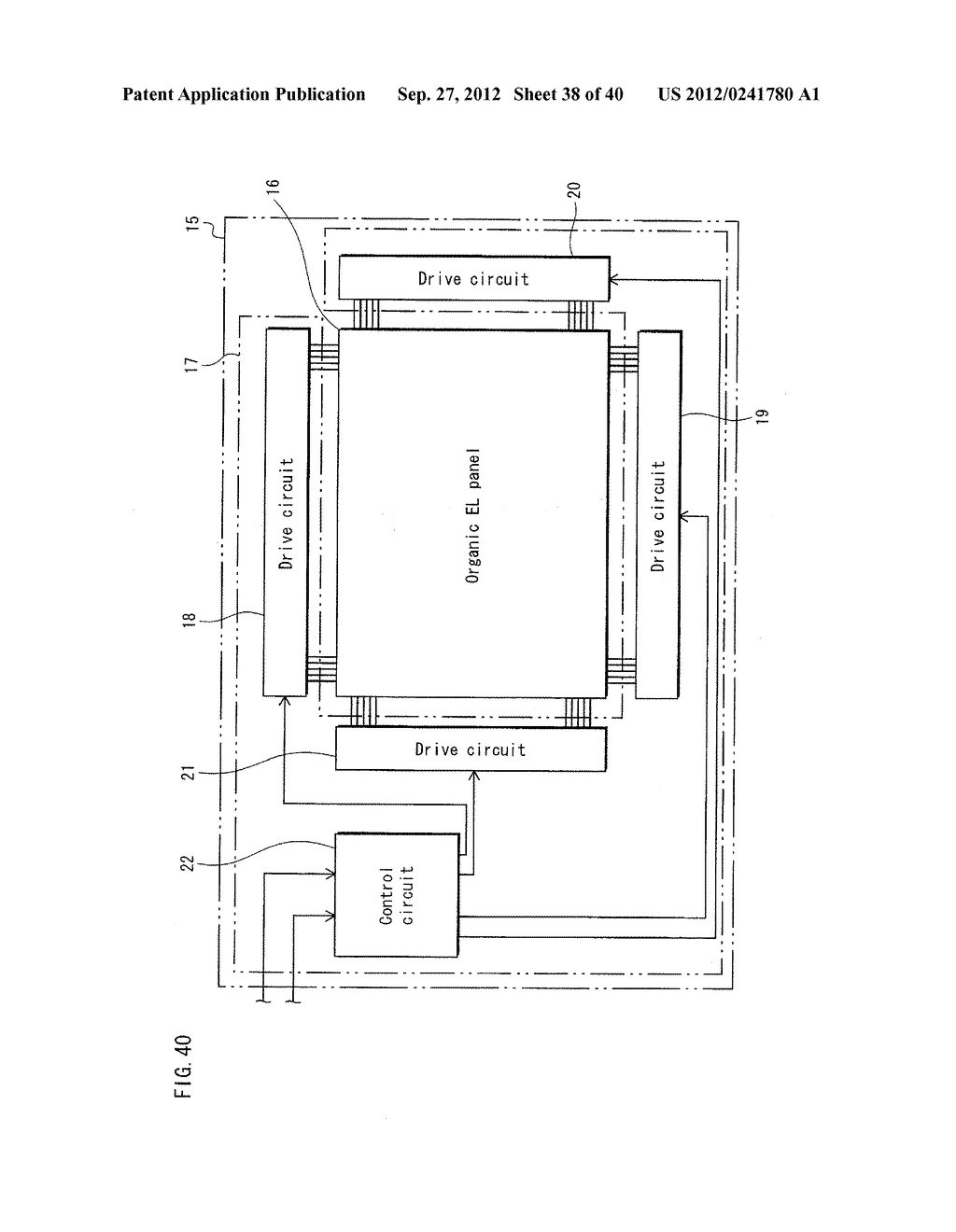 ORGANIC EL PANEL, DISPLAY DEVICE USING SAME, AND METHOD FOR PRODUCING     ORGANIC EL PANEL - diagram, schematic, and image 39
