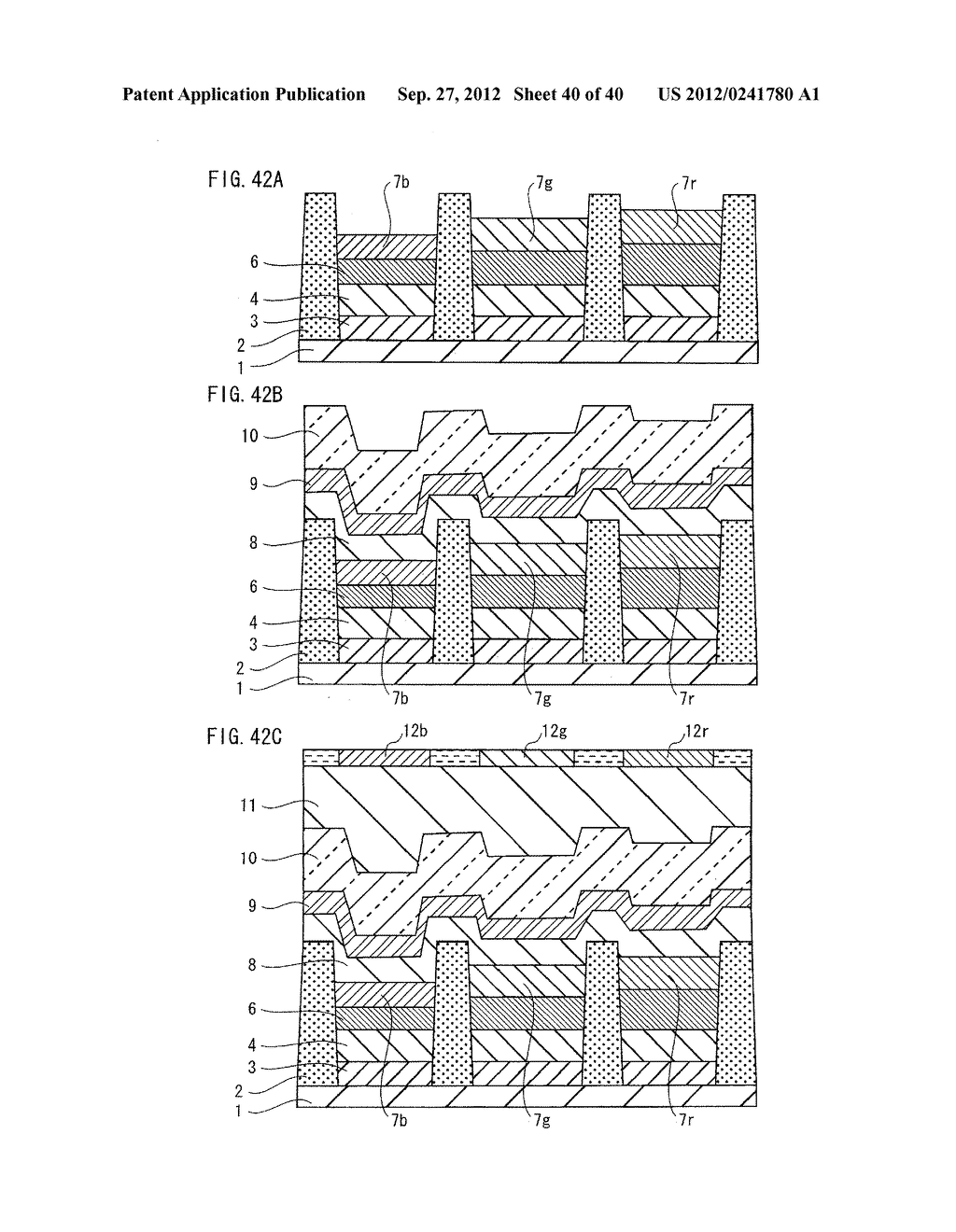 ORGANIC EL PANEL, DISPLAY DEVICE USING SAME, AND METHOD FOR PRODUCING     ORGANIC EL PANEL - diagram, schematic, and image 41