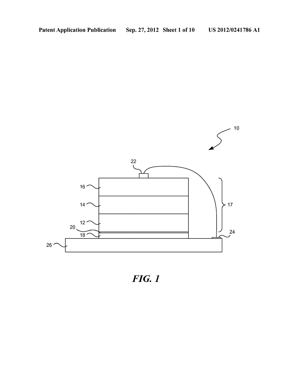SOLID STATE OPTOELECTRONIC DEVICE WITH PLATED SUPPORT SUBSTRATE - diagram, schematic, and image 02