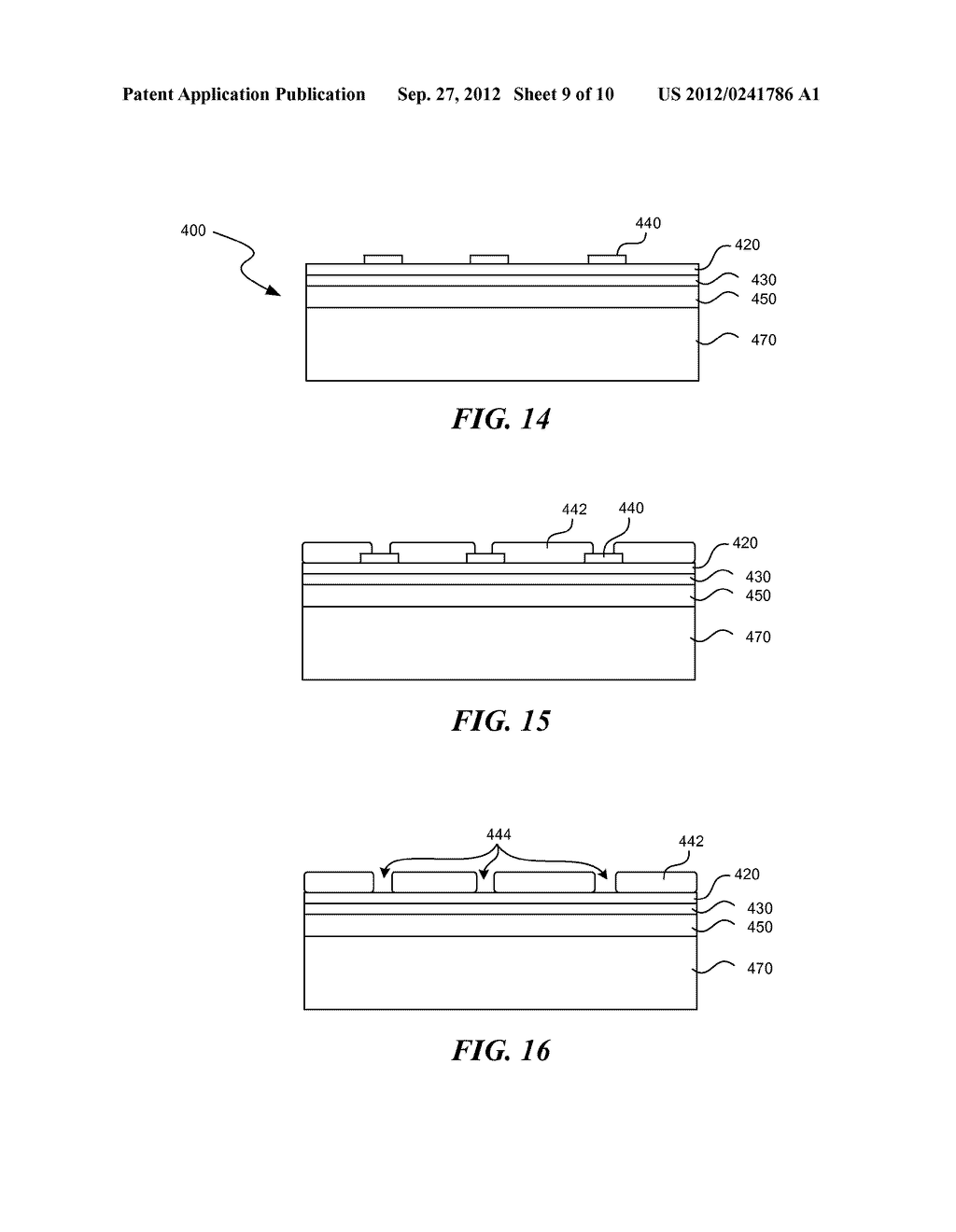 SOLID STATE OPTOELECTRONIC DEVICE WITH PLATED SUPPORT SUBSTRATE - diagram, schematic, and image 10