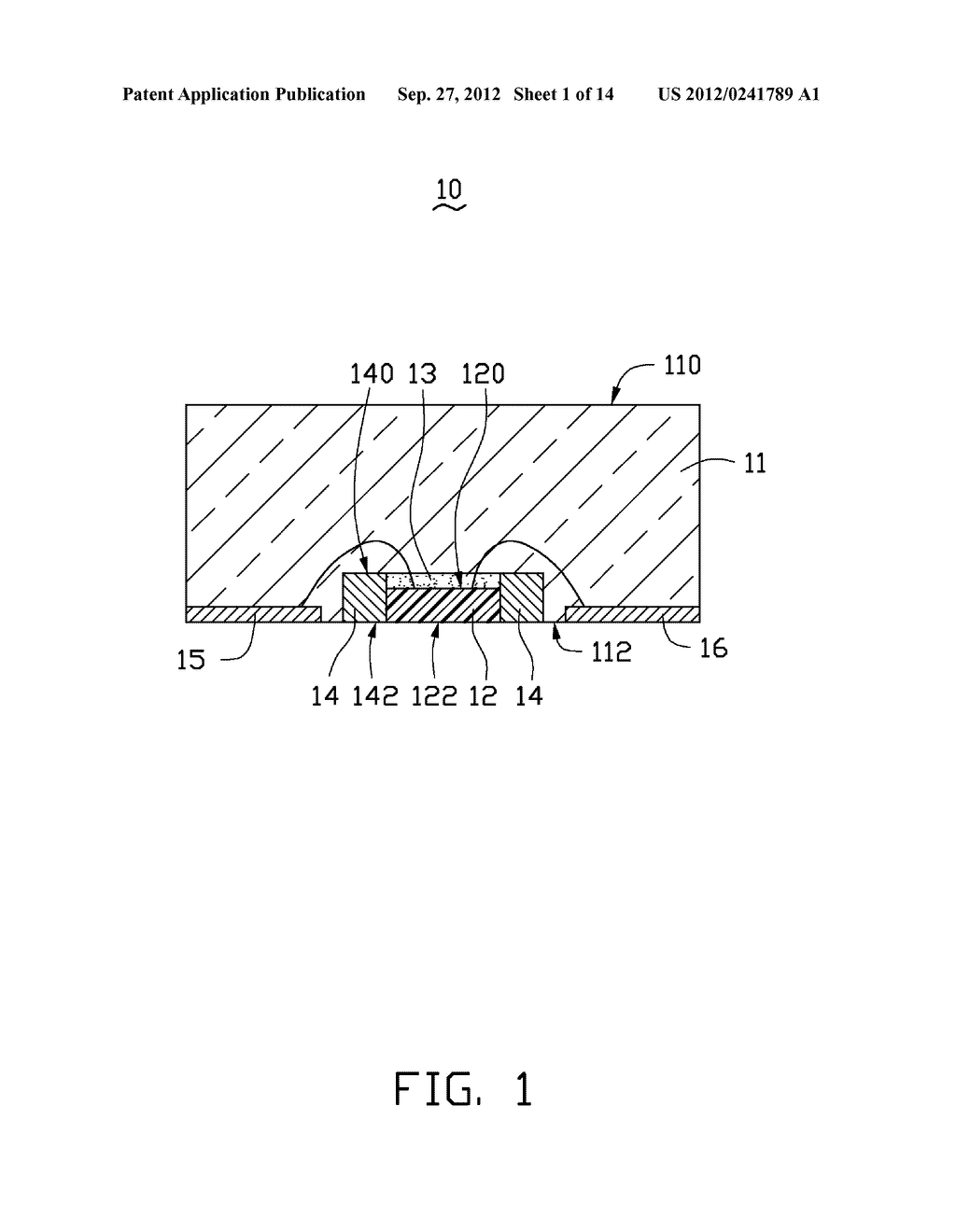 LED PACKAGE, METHOD FOR MAKING THE LED PACKAGE AND LIGHT SOURCE HAVING THE     SAME - diagram, schematic, and image 02
