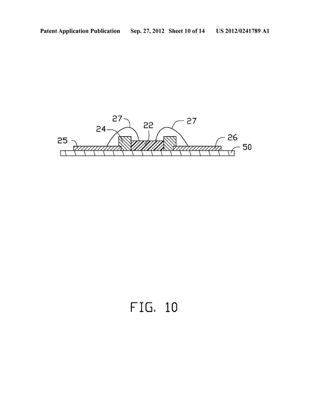 LED PACKAGE, METHOD FOR MAKING THE LED PACKAGE AND LIGHT SOURCE HAVING THE     SAME - diagram, schematic, and image 11