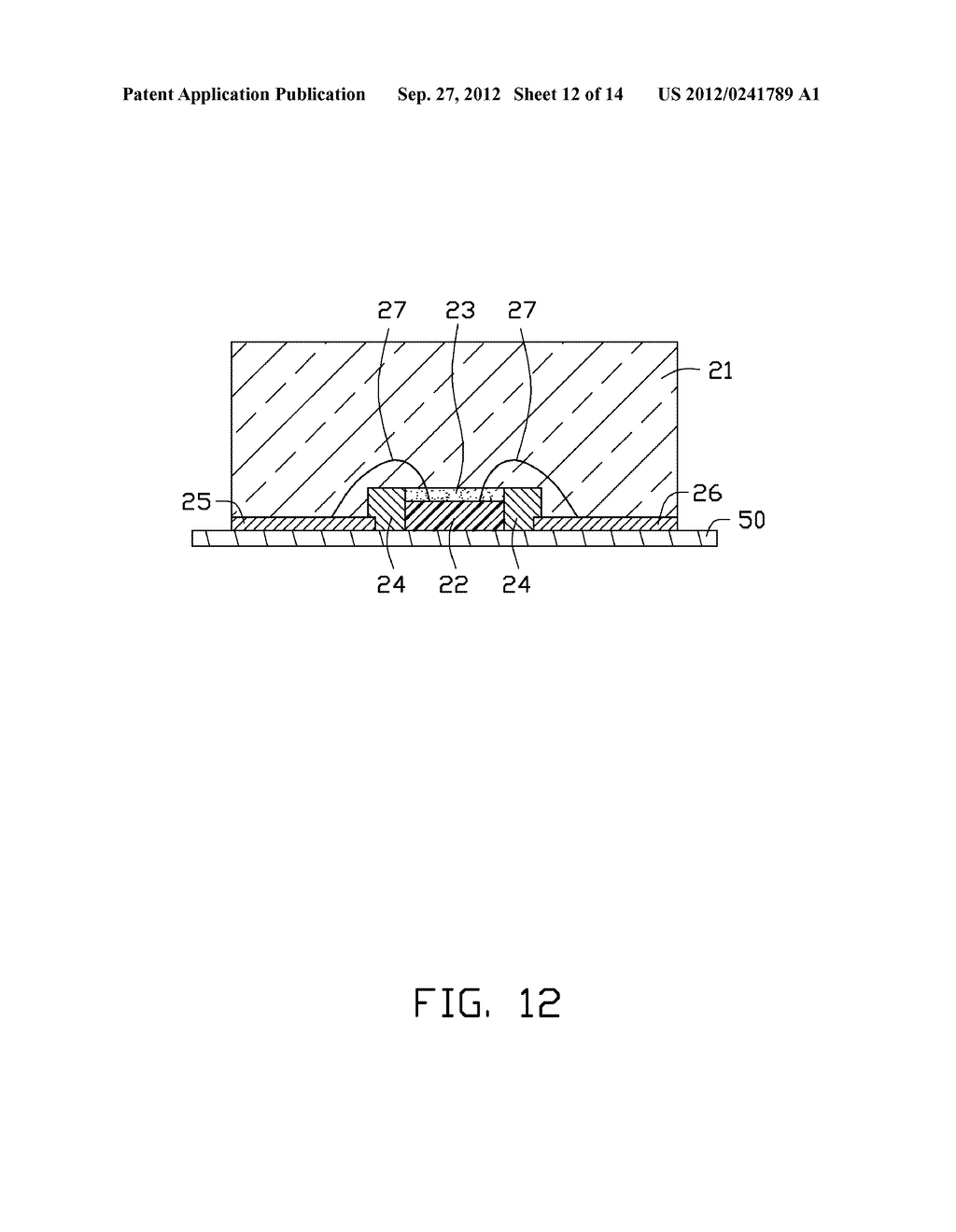 LED PACKAGE, METHOD FOR MAKING THE LED PACKAGE AND LIGHT SOURCE HAVING THE     SAME - diagram, schematic, and image 13