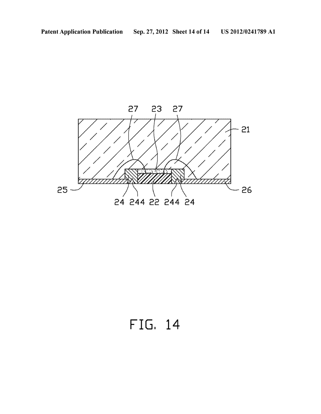 LED PACKAGE, METHOD FOR MAKING THE LED PACKAGE AND LIGHT SOURCE HAVING THE     SAME - diagram, schematic, and image 15