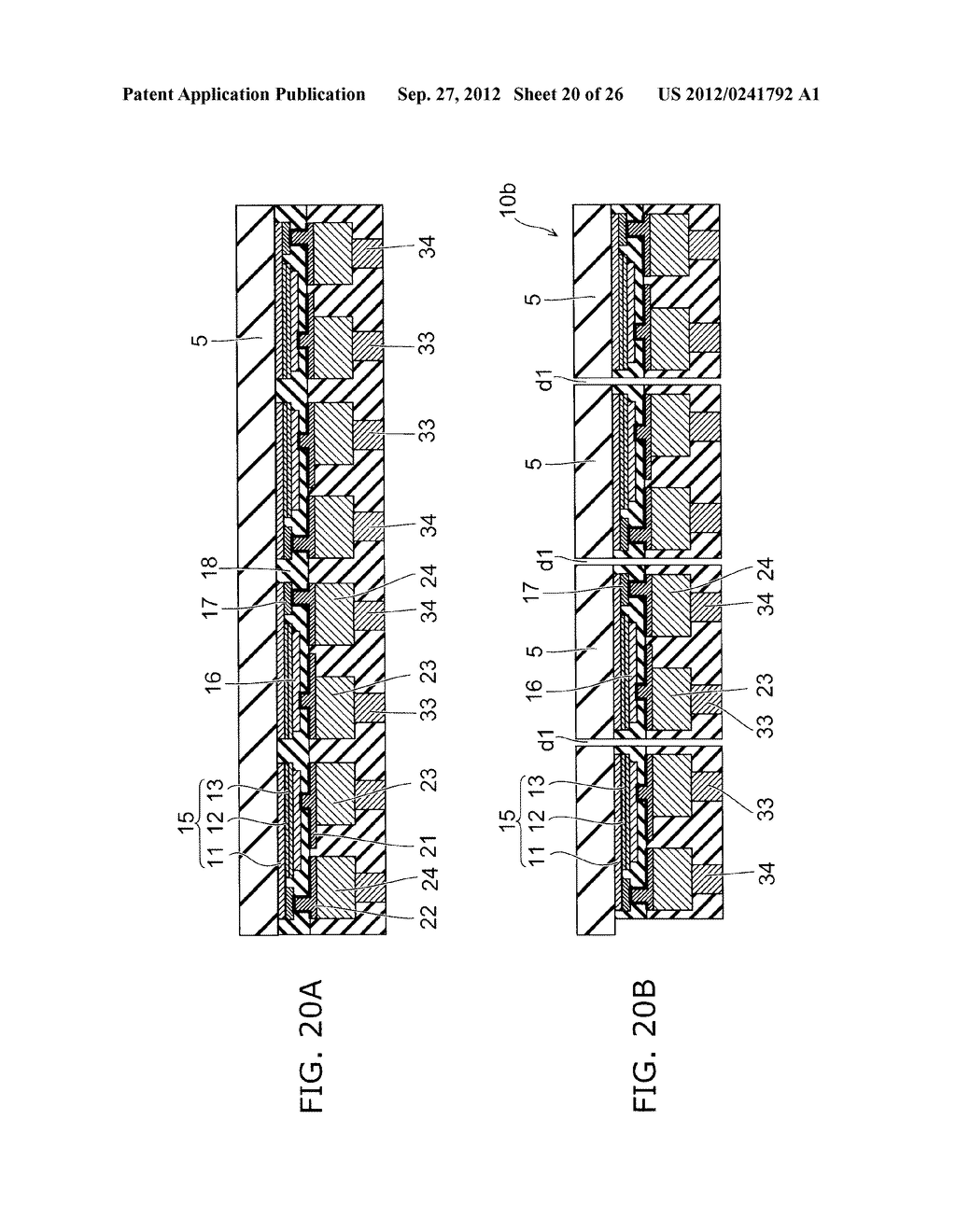 SEMICONDUCTOR LIGHT EMITTING DEVICE AND METHOD FOR MANUFACTURING SAME - diagram, schematic, and image 21