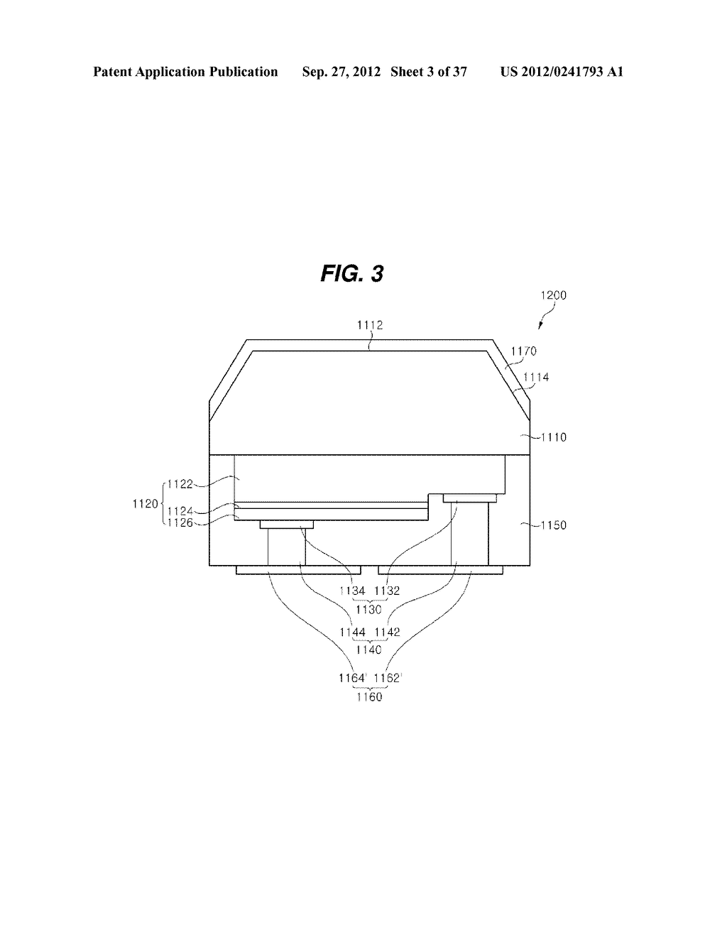 LIGHT EMITTING DIODE PACKAGE AND METHOD FOR MANUFACTURING THE SAME - diagram, schematic, and image 04
