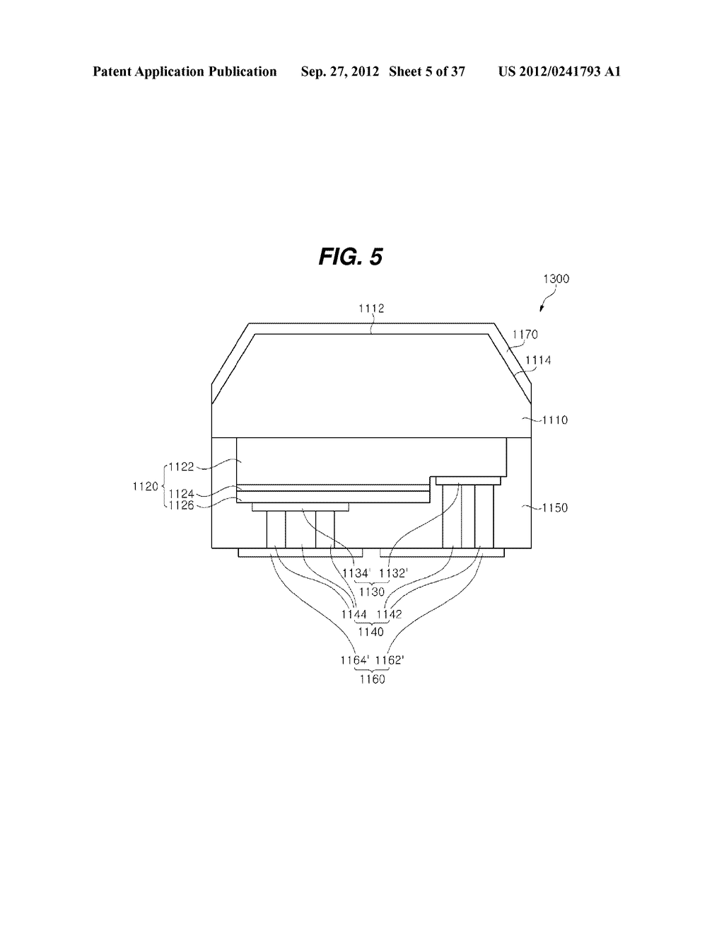 LIGHT EMITTING DIODE PACKAGE AND METHOD FOR MANUFACTURING THE SAME - diagram, schematic, and image 06
