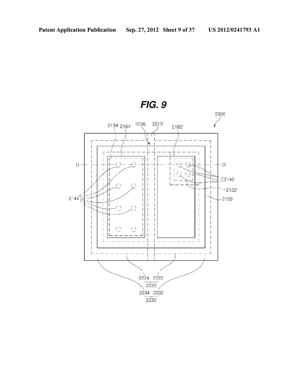 LIGHT EMITTING DIODE PACKAGE AND METHOD FOR MANUFACTURING THE SAME - diagram, schematic, and image 10