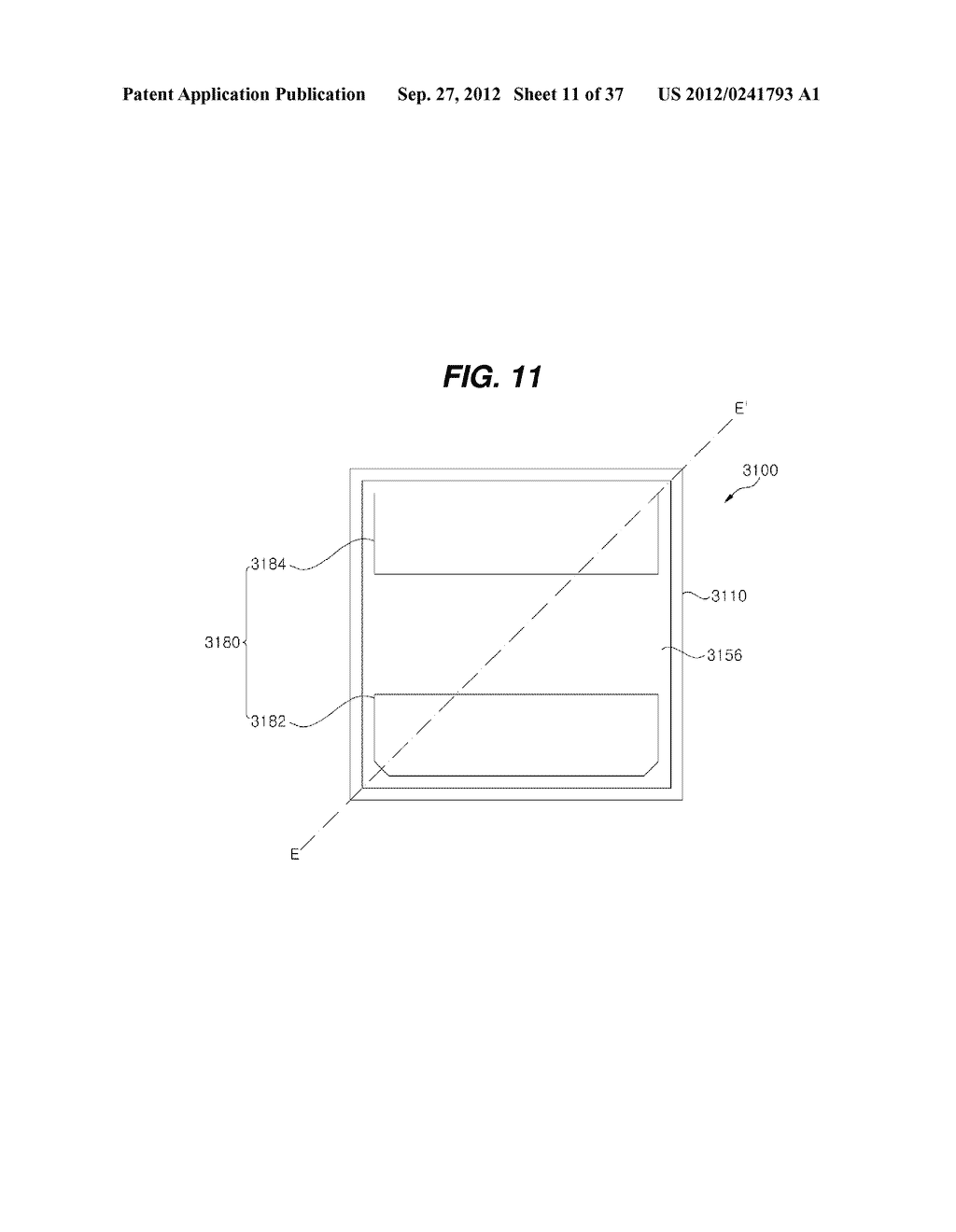 LIGHT EMITTING DIODE PACKAGE AND METHOD FOR MANUFACTURING THE SAME - diagram, schematic, and image 12