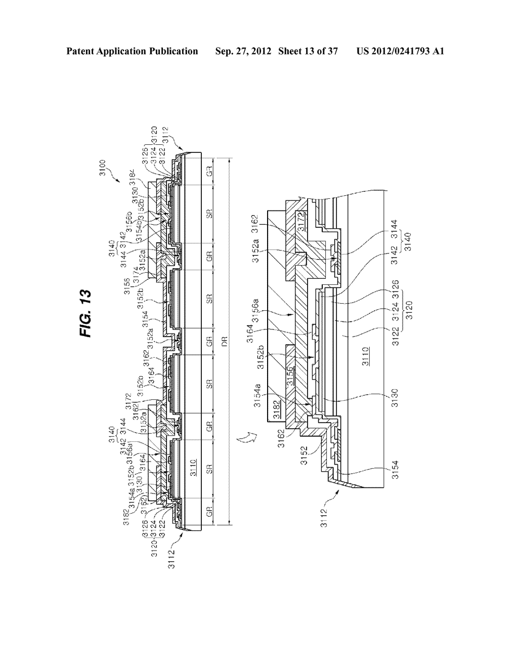 LIGHT EMITTING DIODE PACKAGE AND METHOD FOR MANUFACTURING THE SAME - diagram, schematic, and image 14
