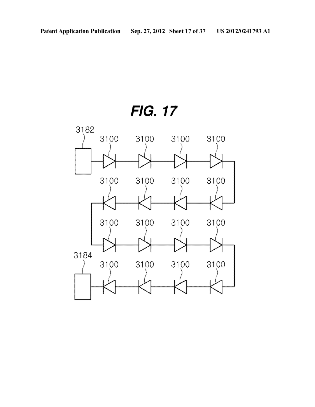 LIGHT EMITTING DIODE PACKAGE AND METHOD FOR MANUFACTURING THE SAME - diagram, schematic, and image 18