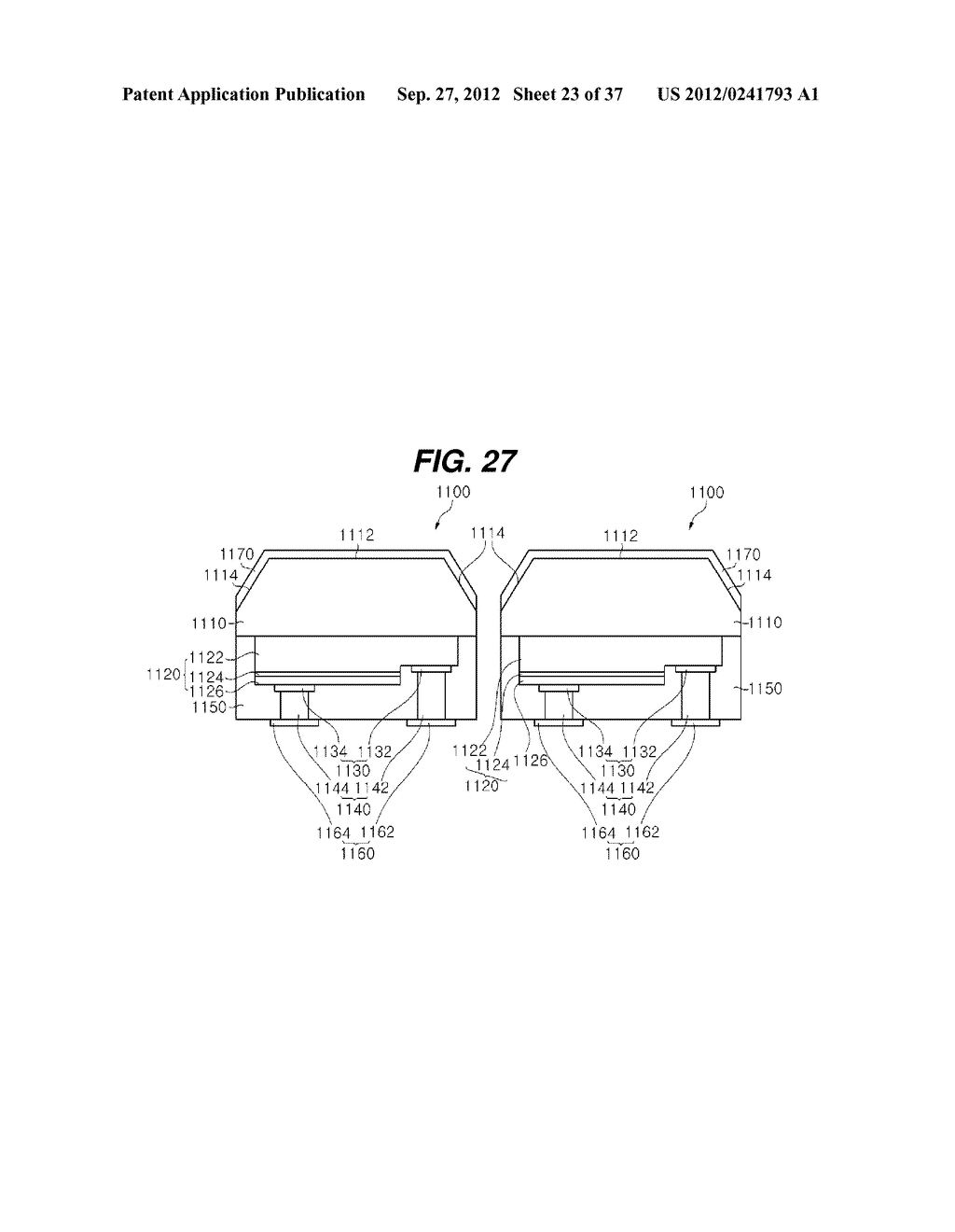 LIGHT EMITTING DIODE PACKAGE AND METHOD FOR MANUFACTURING THE SAME - diagram, schematic, and image 24