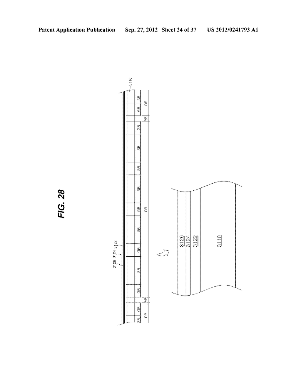 LIGHT EMITTING DIODE PACKAGE AND METHOD FOR MANUFACTURING THE SAME - diagram, schematic, and image 25