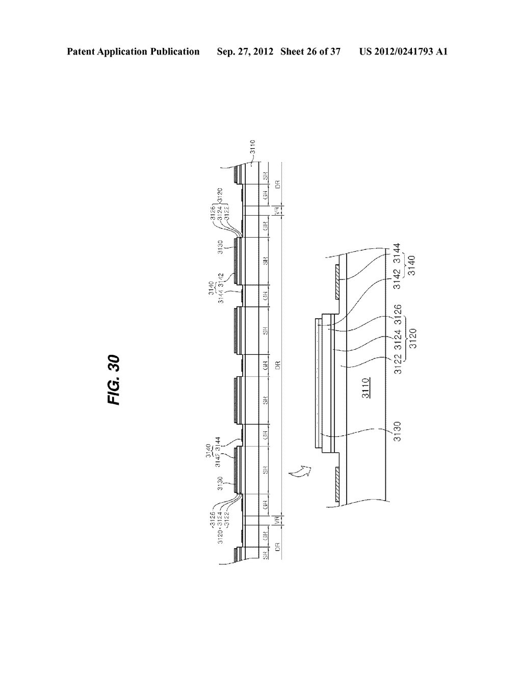 LIGHT EMITTING DIODE PACKAGE AND METHOD FOR MANUFACTURING THE SAME - diagram, schematic, and image 27