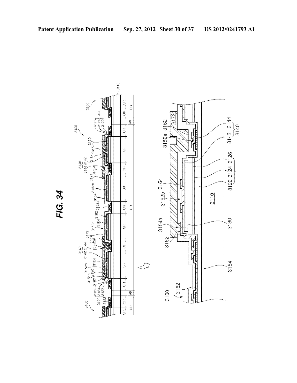 LIGHT EMITTING DIODE PACKAGE AND METHOD FOR MANUFACTURING THE SAME - diagram, schematic, and image 31