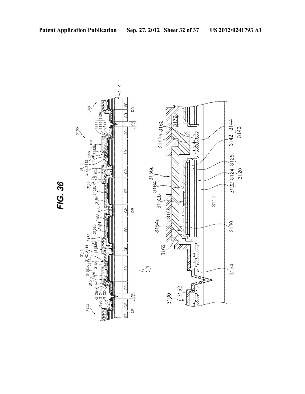 LIGHT EMITTING DIODE PACKAGE AND METHOD FOR MANUFACTURING THE SAME - diagram, schematic, and image 33