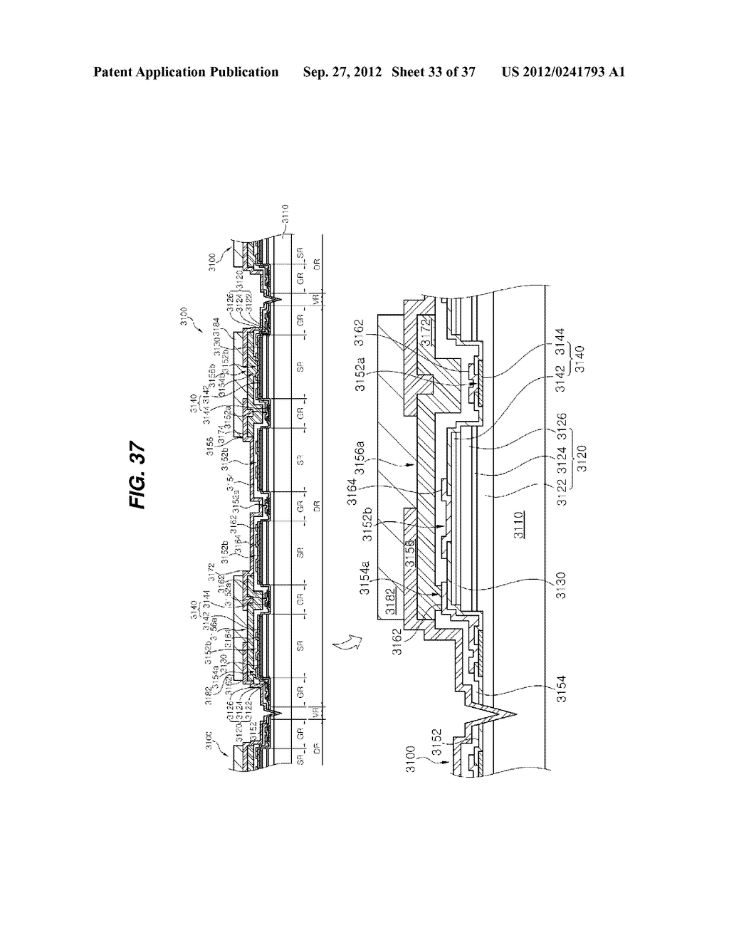 LIGHT EMITTING DIODE PACKAGE AND METHOD FOR MANUFACTURING THE SAME - diagram, schematic, and image 34