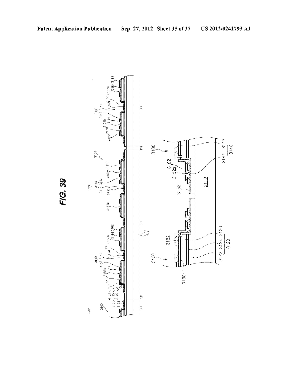LIGHT EMITTING DIODE PACKAGE AND METHOD FOR MANUFACTURING THE SAME - diagram, schematic, and image 36