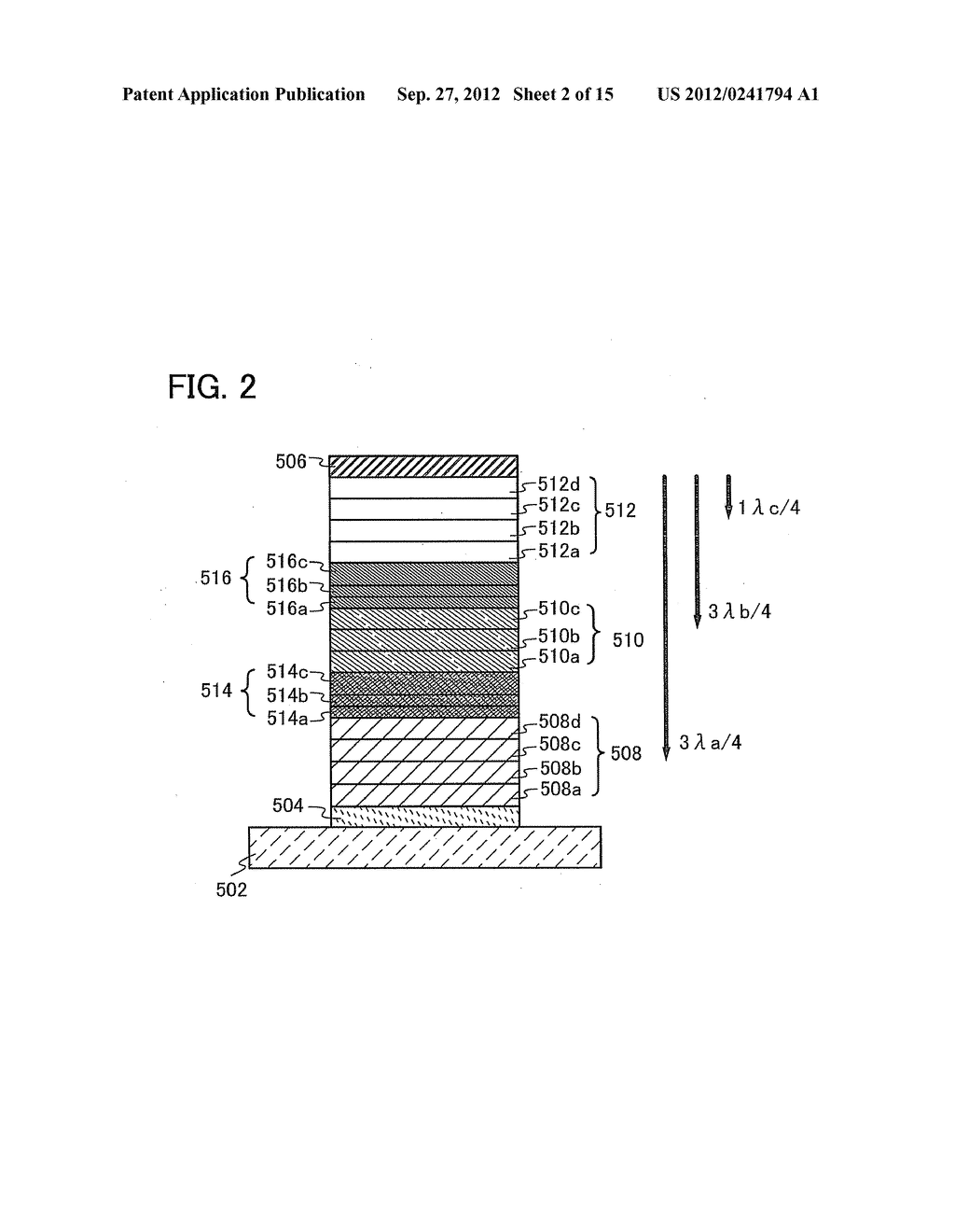 Light-Emitting Device and Lighting Device - diagram, schematic, and image 03