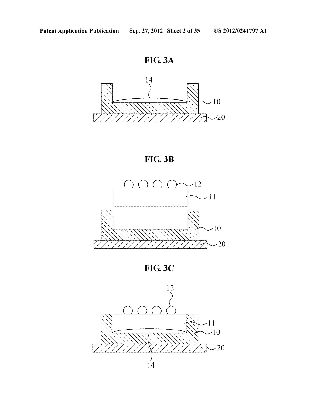 LIGHT EMITTING DIODE, MANUFACTURING METHOD THEREOF, LIGHT EMITTING DIODE     MODULE, AND MANUFACTURING METHOD THEREOF - diagram, schematic, and image 03