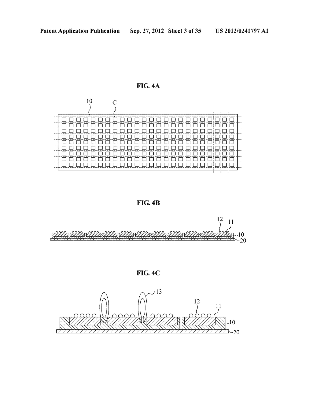 LIGHT EMITTING DIODE, MANUFACTURING METHOD THEREOF, LIGHT EMITTING DIODE     MODULE, AND MANUFACTURING METHOD THEREOF - diagram, schematic, and image 04