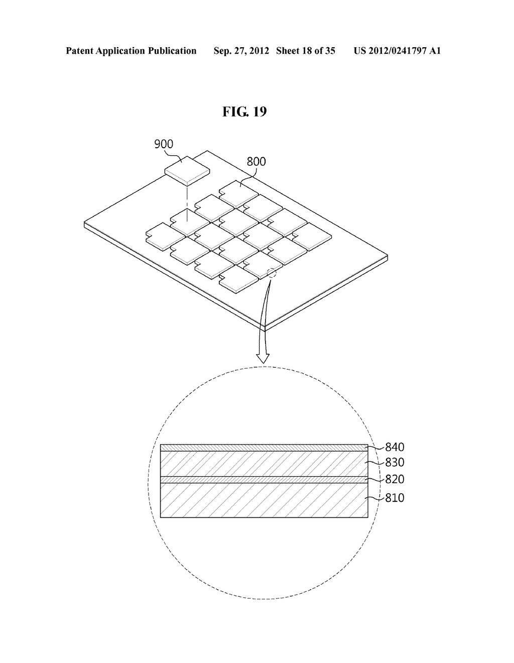LIGHT EMITTING DIODE, MANUFACTURING METHOD THEREOF, LIGHT EMITTING DIODE     MODULE, AND MANUFACTURING METHOD THEREOF - diagram, schematic, and image 19