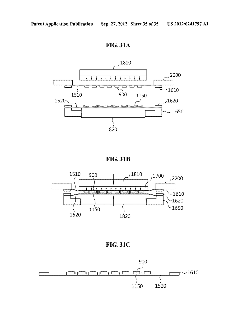 LIGHT EMITTING DIODE, MANUFACTURING METHOD THEREOF, LIGHT EMITTING DIODE     MODULE, AND MANUFACTURING METHOD THEREOF - diagram, schematic, and image 36
