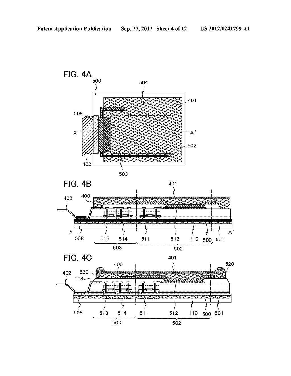 FLEXIBLE LIGHT-EMITTING DEVICE, ELECTRONIC DEVICE, AND METHOD FOR     MANUFACTURING FLEXIBLE-LIGHT EMITTING DEVICE - diagram, schematic, and image 05