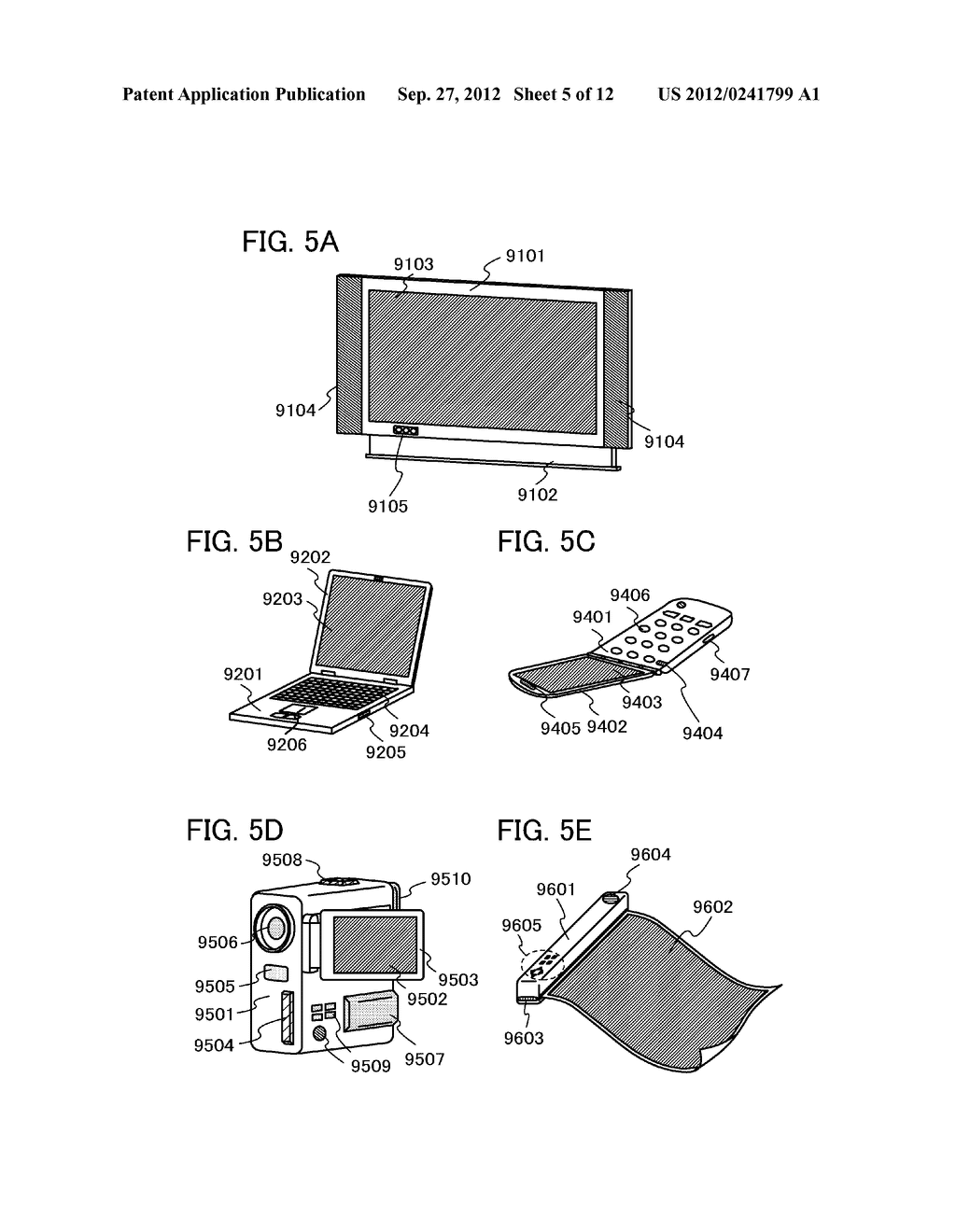 FLEXIBLE LIGHT-EMITTING DEVICE, ELECTRONIC DEVICE, AND METHOD FOR     MANUFACTURING FLEXIBLE-LIGHT EMITTING DEVICE - diagram, schematic, and image 06