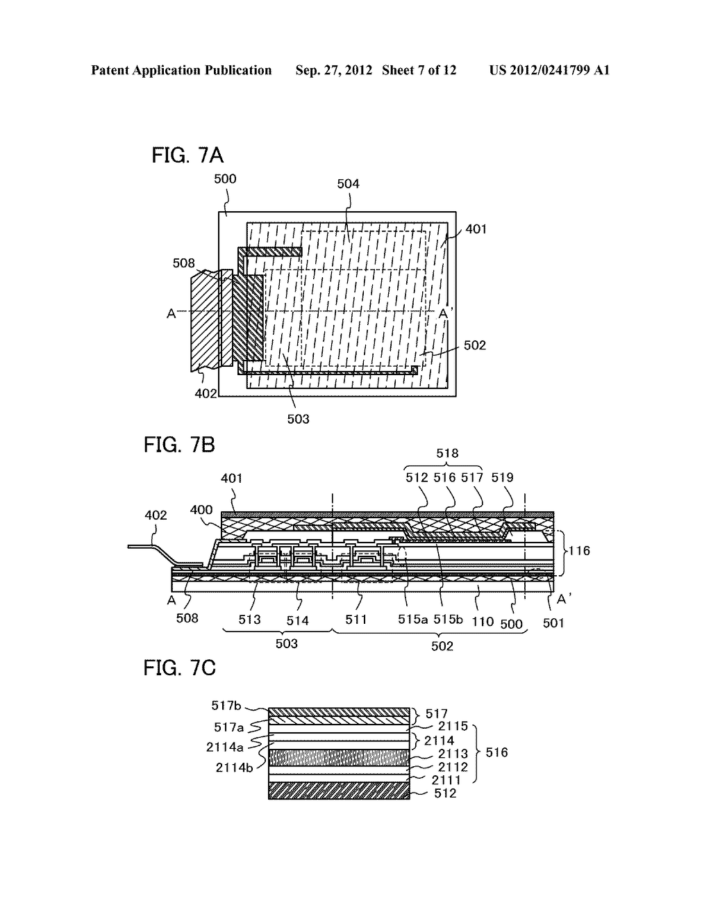 FLEXIBLE LIGHT-EMITTING DEVICE, ELECTRONIC DEVICE, AND METHOD FOR     MANUFACTURING FLEXIBLE-LIGHT EMITTING DEVICE - diagram, schematic, and image 08