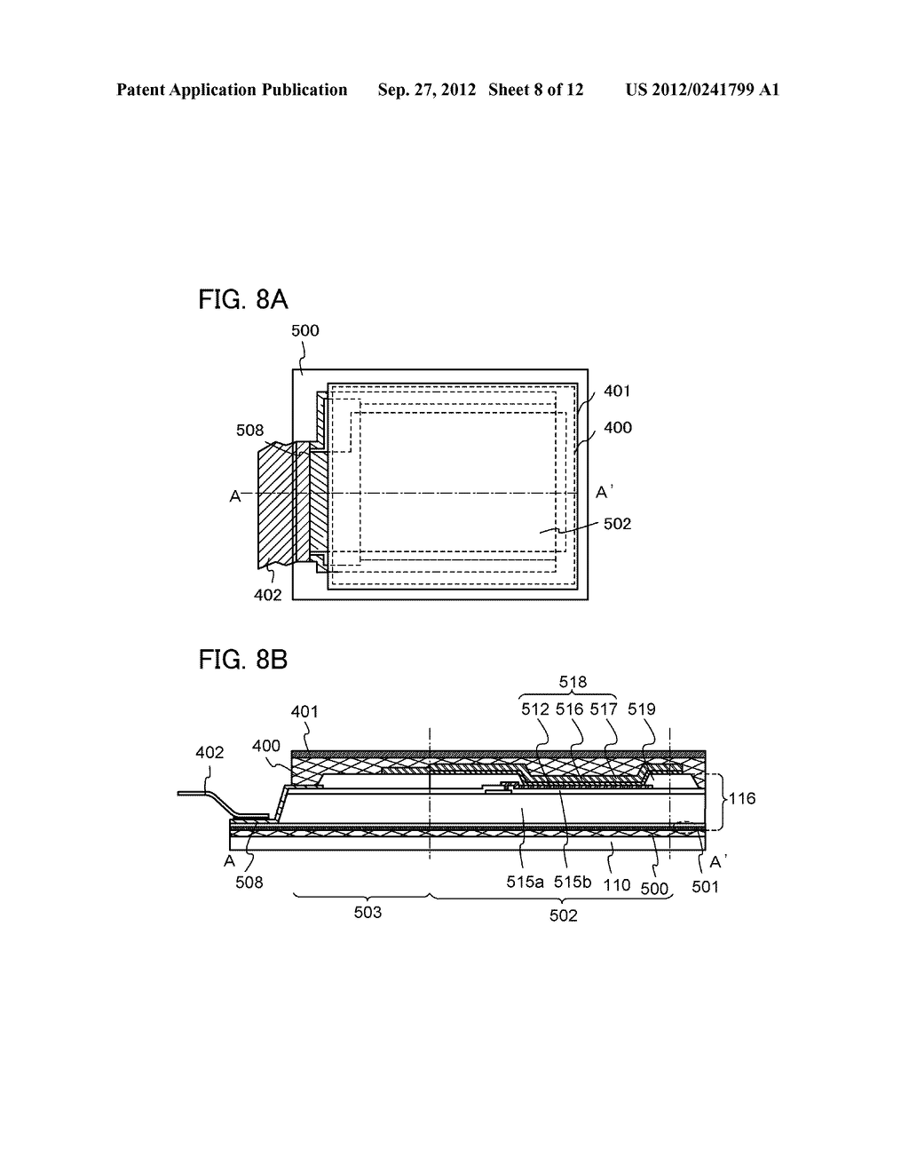 FLEXIBLE LIGHT-EMITTING DEVICE, ELECTRONIC DEVICE, AND METHOD FOR     MANUFACTURING FLEXIBLE-LIGHT EMITTING DEVICE - diagram, schematic, and image 09