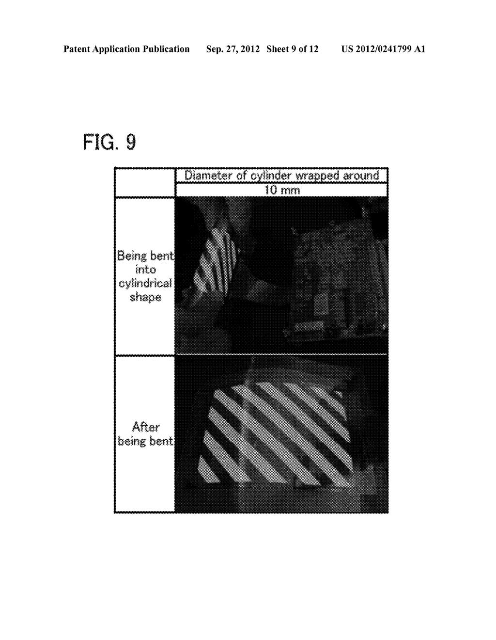 FLEXIBLE LIGHT-EMITTING DEVICE, ELECTRONIC DEVICE, AND METHOD FOR     MANUFACTURING FLEXIBLE-LIGHT EMITTING DEVICE - diagram, schematic, and image 10