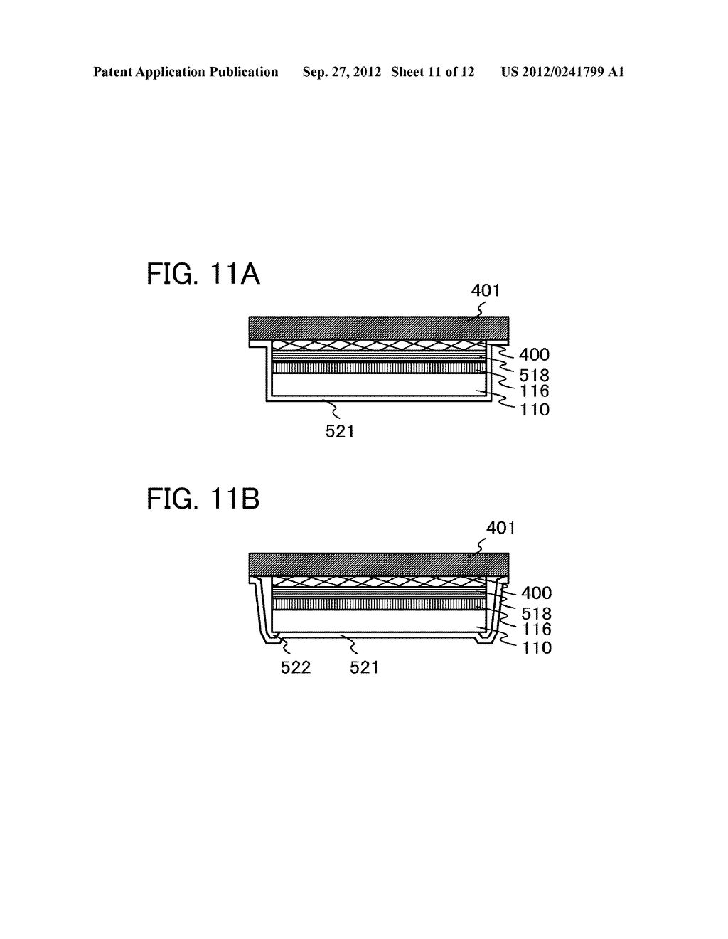 FLEXIBLE LIGHT-EMITTING DEVICE, ELECTRONIC DEVICE, AND METHOD FOR     MANUFACTURING FLEXIBLE-LIGHT EMITTING DEVICE - diagram, schematic, and image 12