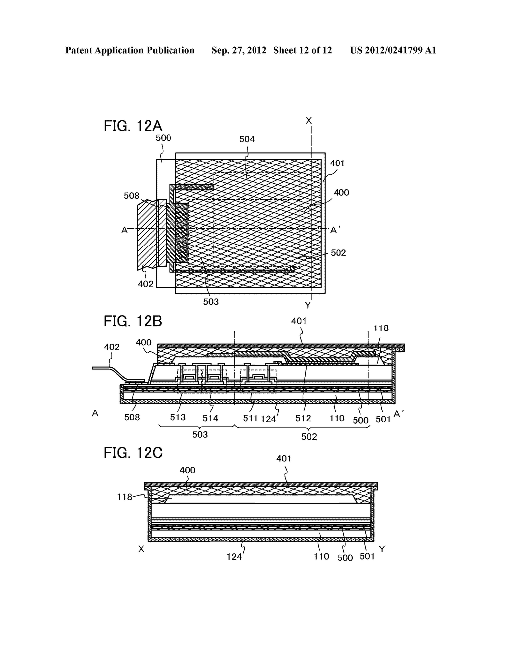 FLEXIBLE LIGHT-EMITTING DEVICE, ELECTRONIC DEVICE, AND METHOD FOR     MANUFACTURING FLEXIBLE-LIGHT EMITTING DEVICE - diagram, schematic, and image 13