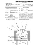 SOLID STATE LIGHTING SYSTEM WITH OPTIC PROVIDING OCCLUDED REMOTE PHOSPHOR diagram and image