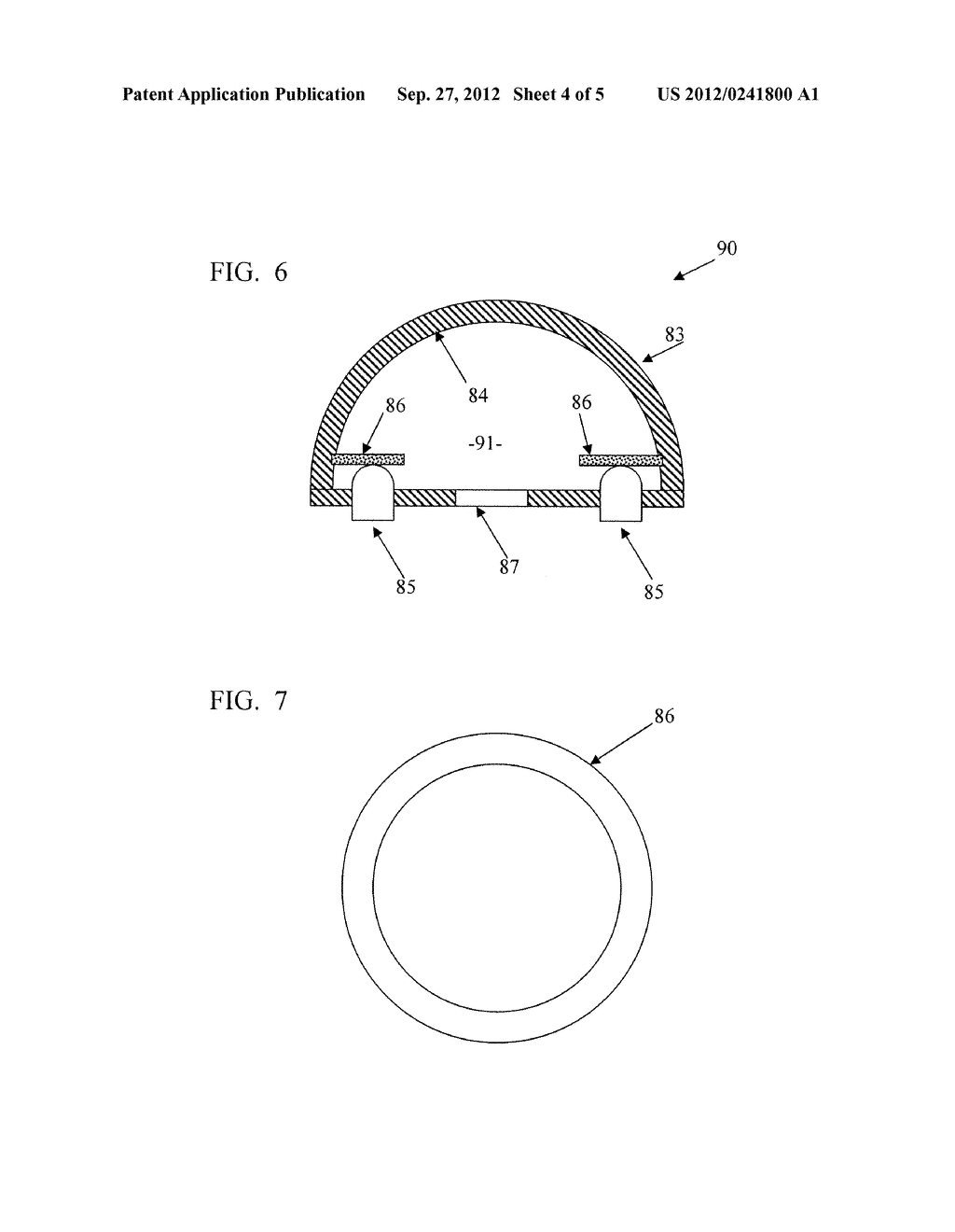 SOLID STATE LIGHTING SYSTEM WITH OPTIC PROVIDING OCCLUDED REMOTE PHOSPHOR - diagram, schematic, and image 05
