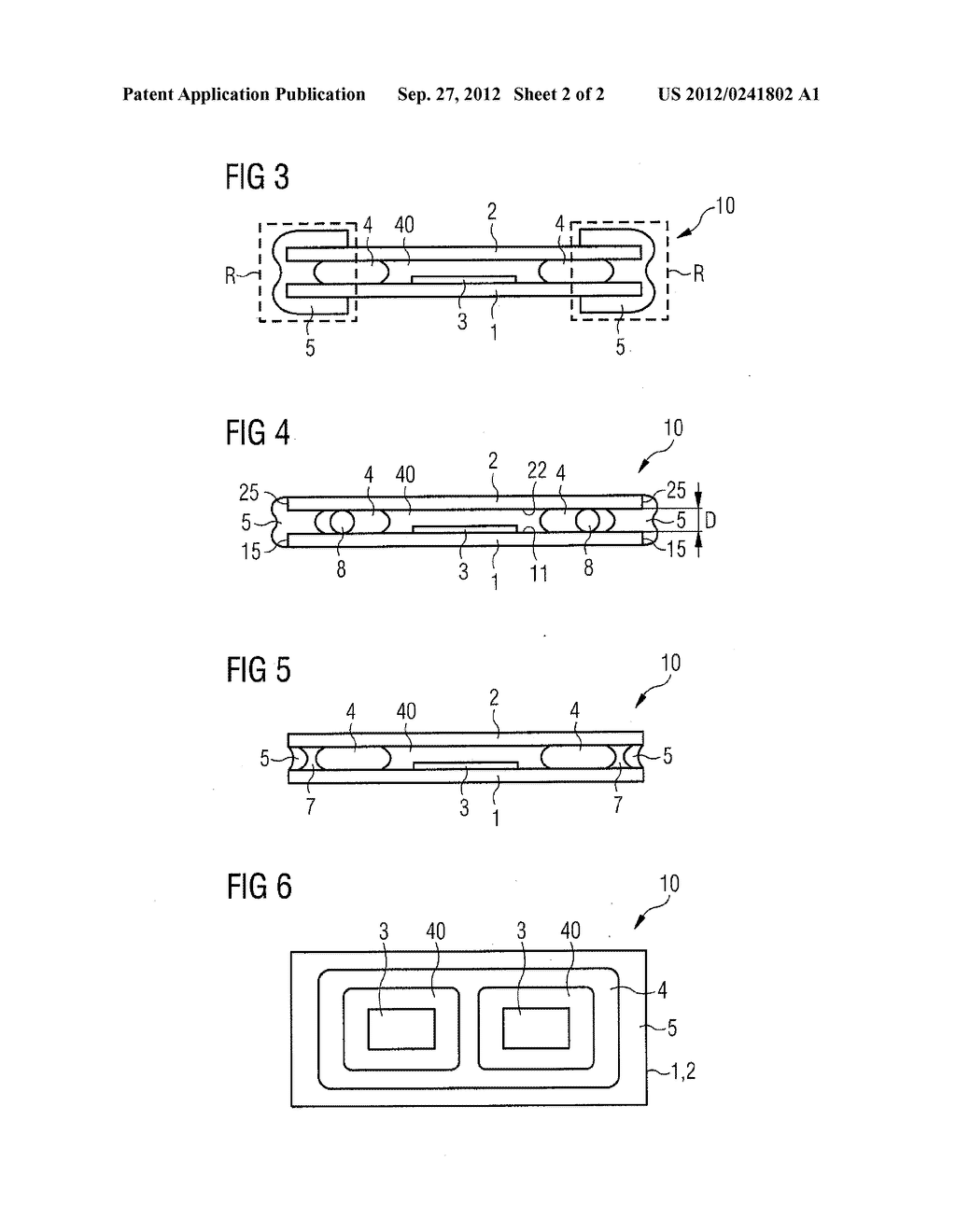 Method for Producing a Component with at Least One Organic Material and     Component with at Least One Organic Material - diagram, schematic, and image 03